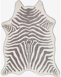 Maslin & Co. Zebra Towel in Grey - Lyst