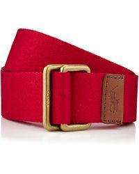 Polo Ralph Lauren Solid Class Belt - Lyst