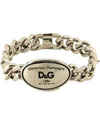 D&G Silver Bracelets - Lyst