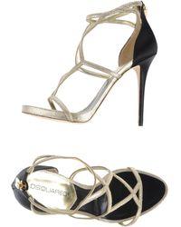 DSquared² Platform Sandals - Metallic
