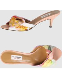 Isaac Mizrahi High-Heeled Sandals - Lyst