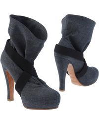 Michel Perry - Ankle Boots - Lyst