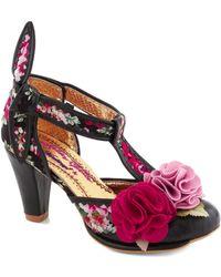 ModCloth Pink Flamenco Heel - Lyst