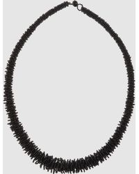 Sete Di Jaipur Necklaces - Black