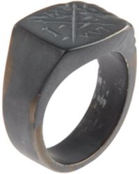 Smith/grey - Ring - Lyst