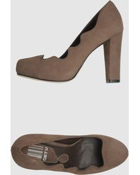 Get U - Platform Court Shoes - Lyst