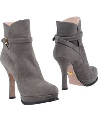 Prada Ankle Boots - Lyst