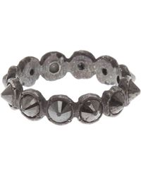 Stones Of Character - Black Diamond Spike Ring - Lyst
