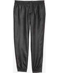 Georgie - Exclusive Perforated Jogging Pant - Lyst