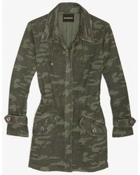 Monrow - Army Jacket - Lyst
