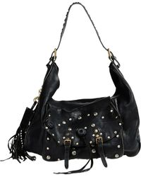 Ralph Lauren Collection Large Leather Bags - Black