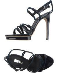Calvin Klein Platform Sandals - Lyst