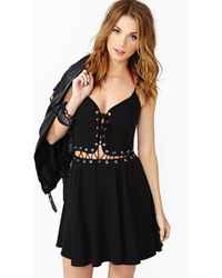 Nasty Gal Bowie Laced Dress - Lyst