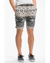 Scotch & Soda Flat Front Linen Blend Shorts - Lyst