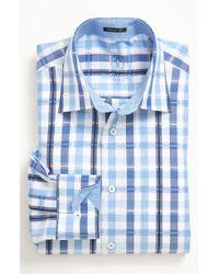 Bugatchi Classic Fit Sport Shirt - Lyst
