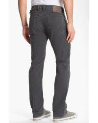 Diesel Viker Straight Leg Jeans Grey - Lyst
