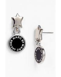 Marc By Marc Jacobs Classic Marc Drop Earrings - Lyst