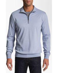 Robert Barakett Georgia Half Zip Sweater - Lyst