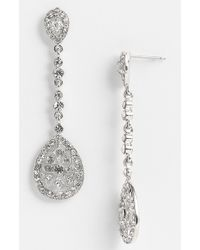 Nina Maegan Filigree Chandelier Earrings - Lyst
