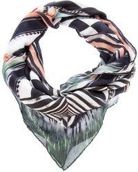 Balmain Printed Scarf multicolor - Lyst