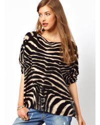 Denim & Supply Ralph Lauren Denim Supply Zebra Sweater - Blue
