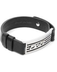 Dolce & Gabbana - Leather Radiator Cuff Bracelet - Lyst