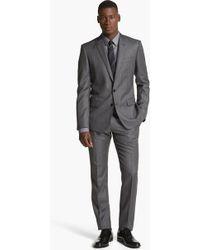 Dolce & Gabbana Martini Herringbone Wool Suit - Lyst