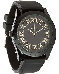 Flud Watches - The Big Ben Watch in Black Gold Link - Lyst