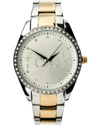 French Connection - 2 Tone Bracelet Watch - Lyst