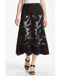 Nic + Zoe Antibes Patio Skirt black - Lyst