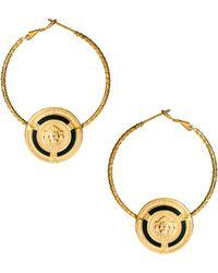 Sam Ubhi Door Knocker Earrings - Metallic
