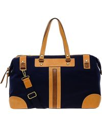 Ted Baker Canvas Holdall - Blue
