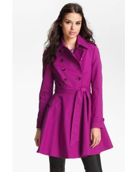 Ted Baker Double Breasted Trench Coat - Lyst