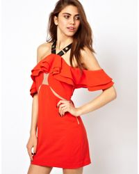 Three Floor Firecracker Frill Dress - Lyst