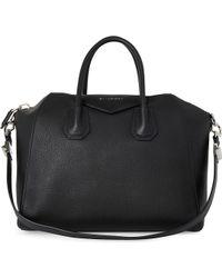 Givenchy Antigona Medium Soft-Grain Leather Tote - For Women - Lyst
