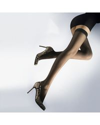 Wolford Naked 8 Hold–Ups - Lyst