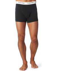 Calvin Klein Three Pack Stretch–Cotton Trunks - For Men - Lyst