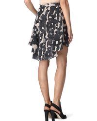 Kelly Wearstler Atlantisprint Flip Skirt - Lyst
