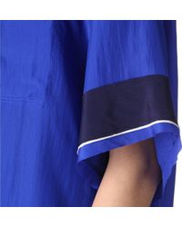 Lanvin - Silk Satin Pyjama Top 386 - Lyst