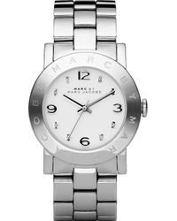 Marc Jacobs Mbm3054 Amy Stainless Steel Watch - Metallic