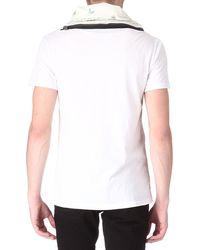 McQ by Alexander McQueen Printedscarf Tshirt - Lyst