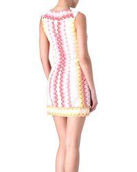 Missoni Star Weave Knit Dress - Lyst