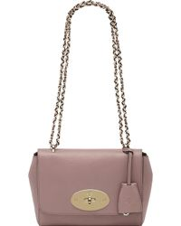 Mulberry Lily Glossy Goat Leather Shoulder Bag - Lyst