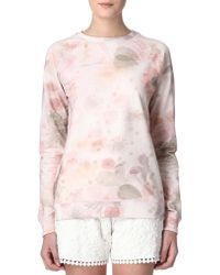 Mulberry Floral Print Jumper pink - Lyst