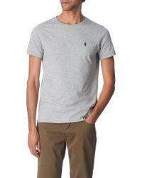Ralph Lauren Custom–Fit T–Shirt - For Men - Lyst