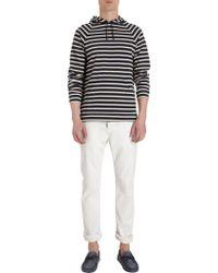 Saint James | Raglan Sleeve Striped Hoodie | Lyst