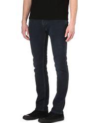 Acne Studios Max Man Ray Slim Tapered Jeans Black - Lyst
