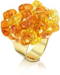 Antica Murrina - Rubik Murano Glass Drops Ring - Lyst