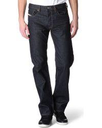 DIESEL Larkee Relaxed Jeans - Blue