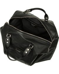 DSquared² Big Leather Holdall - Black
